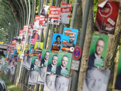 Bei der Wahl zum Berliner Abgeordnetenhaus treten 22 Parteien an.