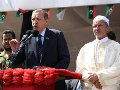 Erdogan in Tripolis