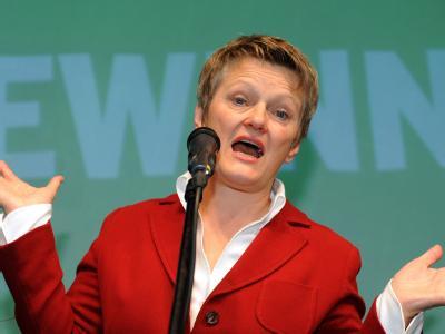 Gut, aber nicht gut genug. Für Grünen-Spitzenkandidatin Renate Künast reicht es nicht für den Bürgermeisterposten.