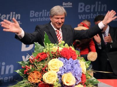 Klaus Wowereit (SPD) darf seine dritte Amtszeit als Berlins regierender Bürgermeister antreten.