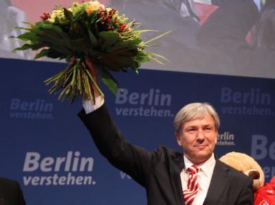 Klarer Wahlsieg für Klaus Wowereit und seine SPD.