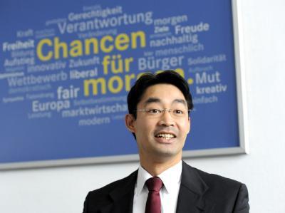Philipp Rösler strahlt in Koalitionsfragen weiter Zuversicht aus.