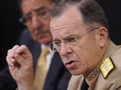 Erhebt Mullen schwere Vorwürfe gegen den umstrittenen pakistanischen Militärgeheimdienst ISI und auch gegen die Regierung in Islamabad: US-Generalstabschefs Mike Mullen.