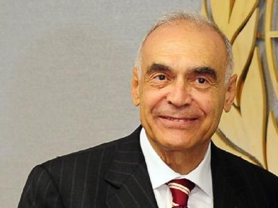 Unterstützt den palästinensischen Antrag: Ägyptens Außenminister Mohammed Amr.