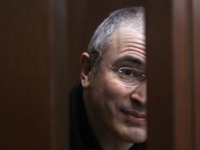 Ex-Manager von Yukos und einstiger Mehrheitsaktionär Michail Chodorkowski sitzt derzeit wegen angeblicher Steuerhinterziehung in Haft. (Archivbild)