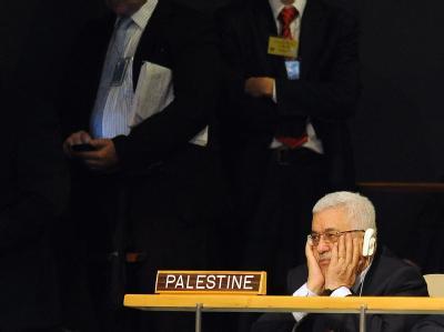 Palästinenserpräsident Mahmude Abbas in der UN-Vollversammlung.