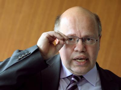 Der parlamentarischer Geschäftsführer der CDU/CSU-Bundestagsfraktion, Peter Altmaier. Foto: Fredrik von Erichsen/Archiv