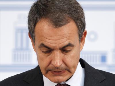 Auch Spaniens Premierminister Zapatero stolperte über die Schuldenkrise. Archivfoto: JJ Guillen