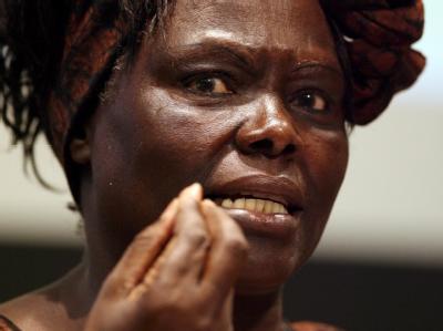Friedensnobelpreisträgerin Wangari Maathai