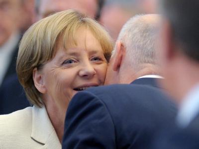 Merkel und Papandreou