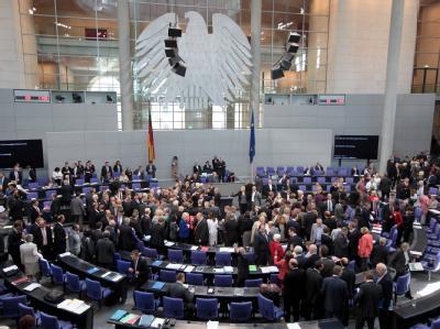 Parlamentarier stimmen ab
