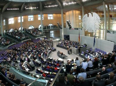 Der Deutsche Bundestag in Berlin. Foto: Michael Kappeler / Archiv