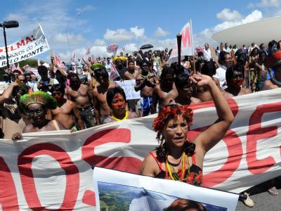 Protest gegen Kraftwerk