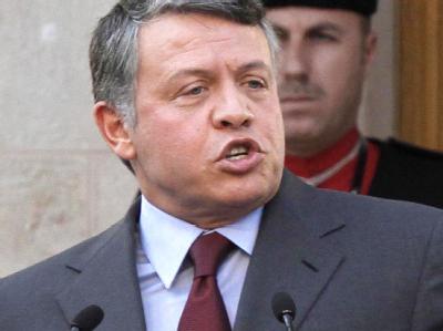 Jordaniens König Abdullah II. sieht sich als Teil des Arabischen Frühlings. Archivfoto: Jamal Nasrallah, epa