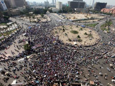 Der Kairoer Tahrir-Platz  war einer der prominentesten Schauplätze des