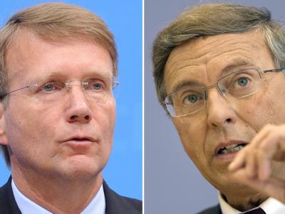 Ronald Pofalla und Wolfgang Bosbach