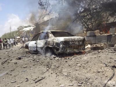 Viele Tote bei Anschlag in Mogadischu