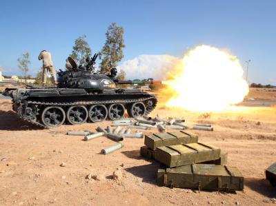 Im lybischen SIrte haben sich die Gefechte zwischen den Rebellen und den Pro-Gaddafi Truppen zugespitzt.