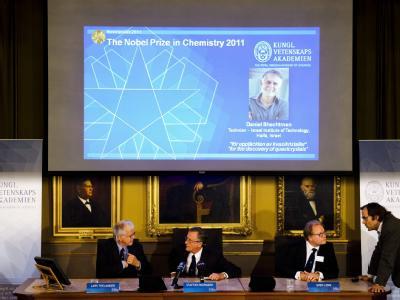 Nobelpreis f�r Chemie an Daniel Shechtman