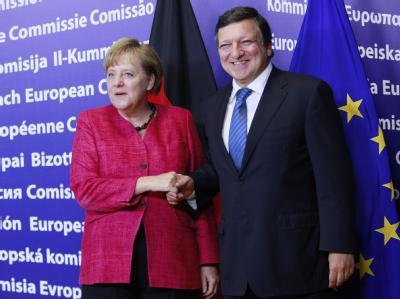 Merkel und Barroso