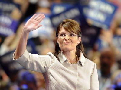 Sarah Palin hat ihre Präsidentschaftsambitionen auf Eis gelegt. Foto: Tannen Maury, dpa