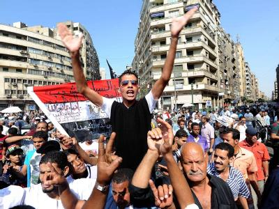 Protest gegen den Militärrat