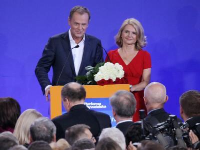 Donald und Malgorzata Tusk