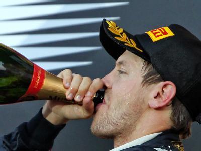 Noch lange nicht satt: Sebastian Vettel. Foto: Jan Woitas