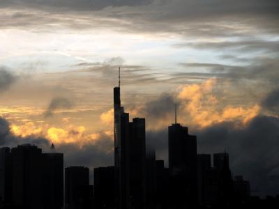 Bankentürme von Frankfurt am Main: «Die Banken dürften jetzt nicht für eine Krise in die Verantwortung gezogen werden, für die sie nicht die Ursache sind». Symbolfoto: Arne Dedert