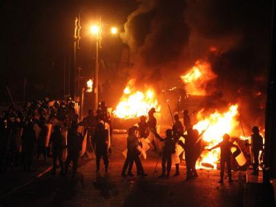 Feuer in Kairo