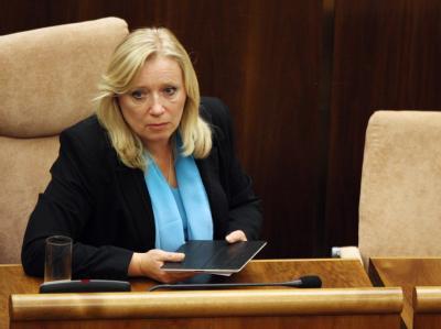 Premierministerin Radicova