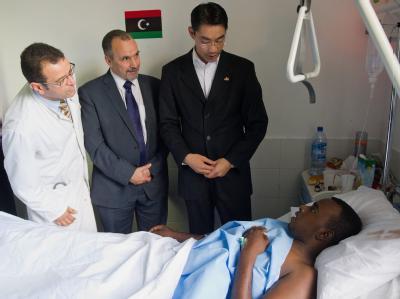 R�sler besucht Libyen