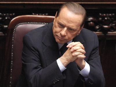 Erfolg für Silvio Berlusconi: Er hat die Vertrauensabstimmung im Parlament gewonnen. Foto: Giuseppe Lami