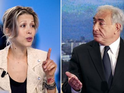 Tristane Banon und Dominique Strauss-Kahn