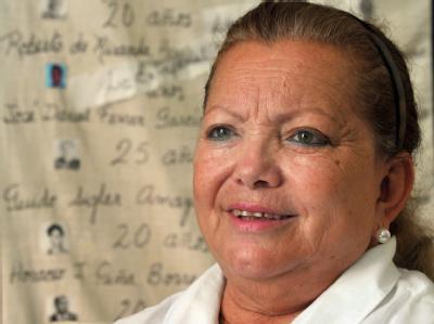 Die kubanische Dissidentin Laura Pollan ist tot. Sie war Gründerin der Gruppe «Frauen in Weiß». Archivfoto: Alejandro Ernesto