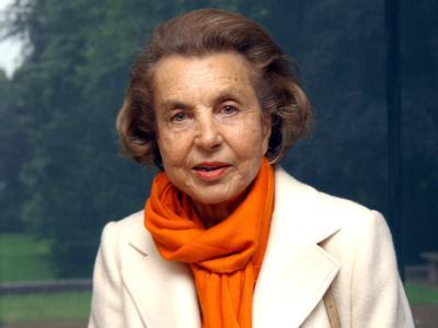 Frankreichs reichste Frau, Liliane Bettencourt. Archivfoto: Horst Ossinger