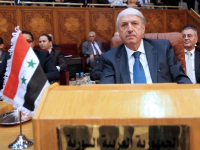 Der syrische Delegierte musste das Außenministertreffen der Arabischen Liga nicht verlassen. Foto: Khaled Elfiqi