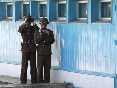 Demarkationslinie in Korea
