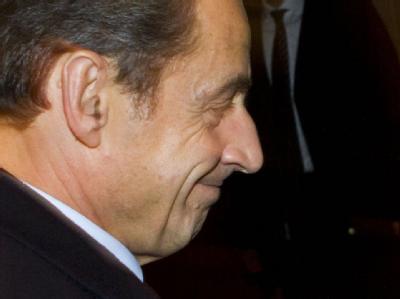 Der französischre Staatspräsident Nicolas Sarkozy. Archivfoto: Frank Rumpenhorst