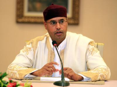 Gaddafi-Sohn Saif al-Islam al-Gaddafi