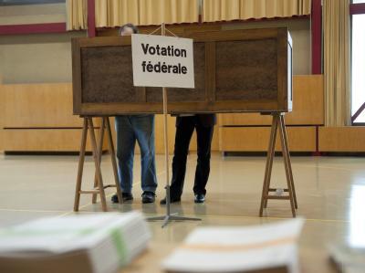 Die Schweizer haben ein neues Parlament gewählt. Foto: Dominic Favre