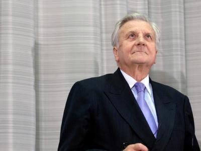 Der scheidende EZB-Präsident Jean-Claude Trichet. Foto: Jörg Carstensen