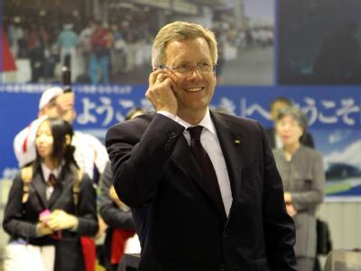 Bundespräsident Christian Wulff ist derzeit auf Staatsbesuch in Japan. Foto: Wolfgang Kumm