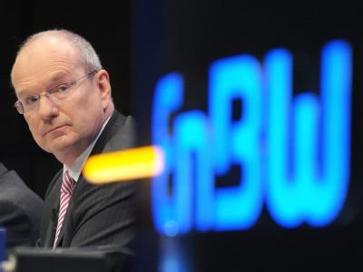 Atomlobbyist: Der Vorstandsvorsitzende der EnBW, Hans-Peter Villis, bei einer Hauptversammlung des Energieversorgers. Archivfoto: Ronald Wittek