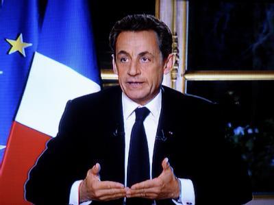 Frankreichs Pr�sident Nicolas Sarkozy