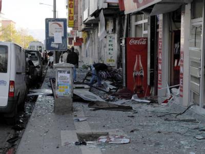 Selbstmordanschlag in der Türkei - drei Tote und 20 Verletzte