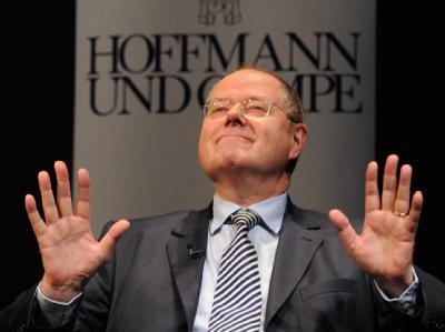 Der ehemalige Bundesfinanzminister Peer Steinbrück gerät in der SPD immer stärker in die Kritik. Foto: Marcus Brandt