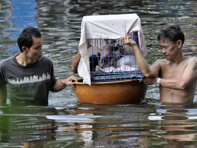 Thailand und andere Länder in Südostasien haben eine besonders heftige Monsunsaison erlebt. Foto: Udo Weitz