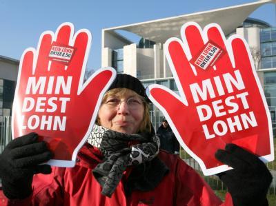 CDU will Lohnuntergrenze in Deutschland