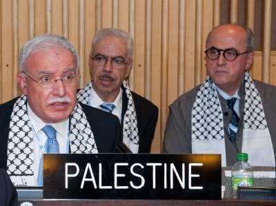 Palästinenser-Delegation